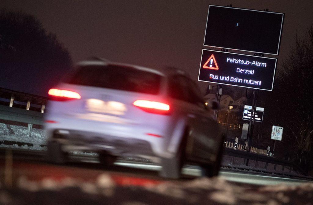 Wie geht es mit den Dieselautos in Stuttgart weiter? Foto: dpa