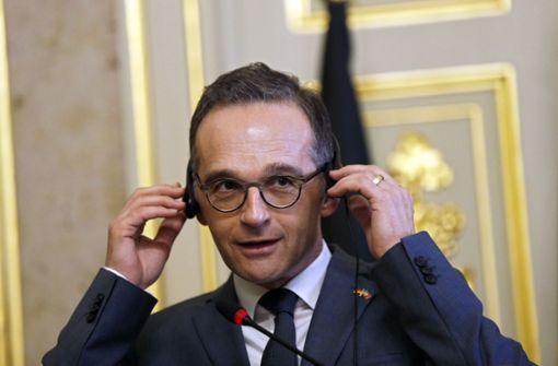 Maas spricht sich gegen Ausweitung der Russland-Sanktionen aus