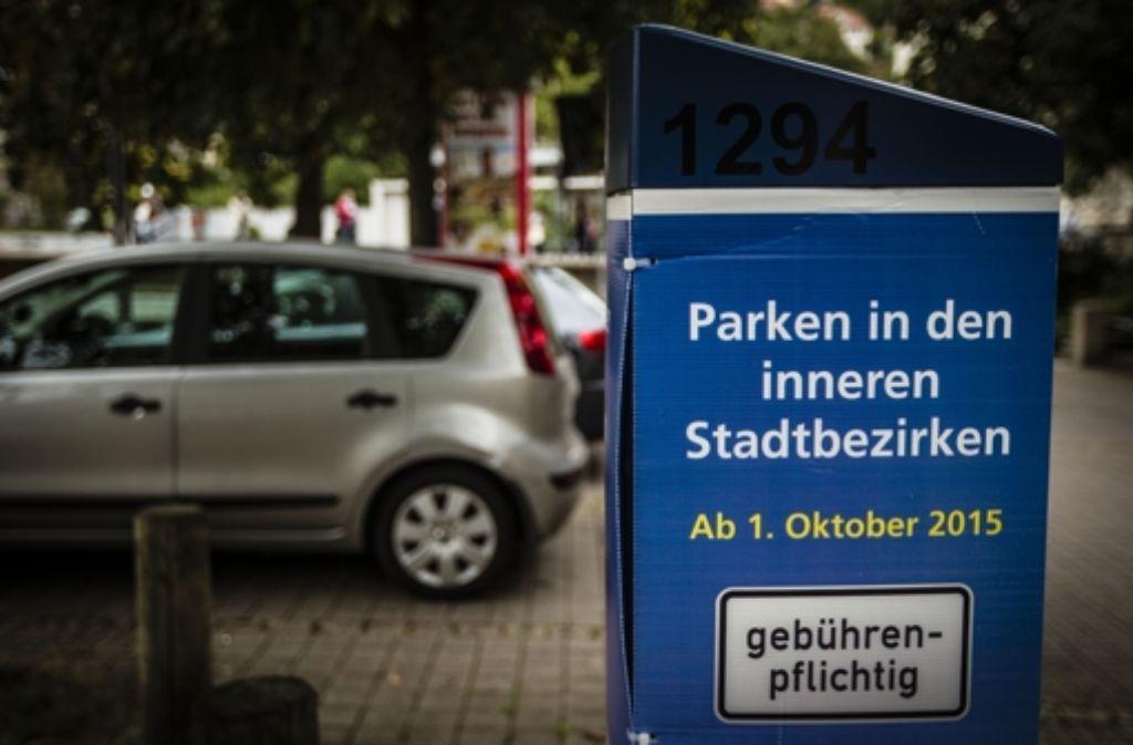 Dieser Parkscheinautomat wird bald ausgepackt. Foto: Lichtgut/Leif Piechowski