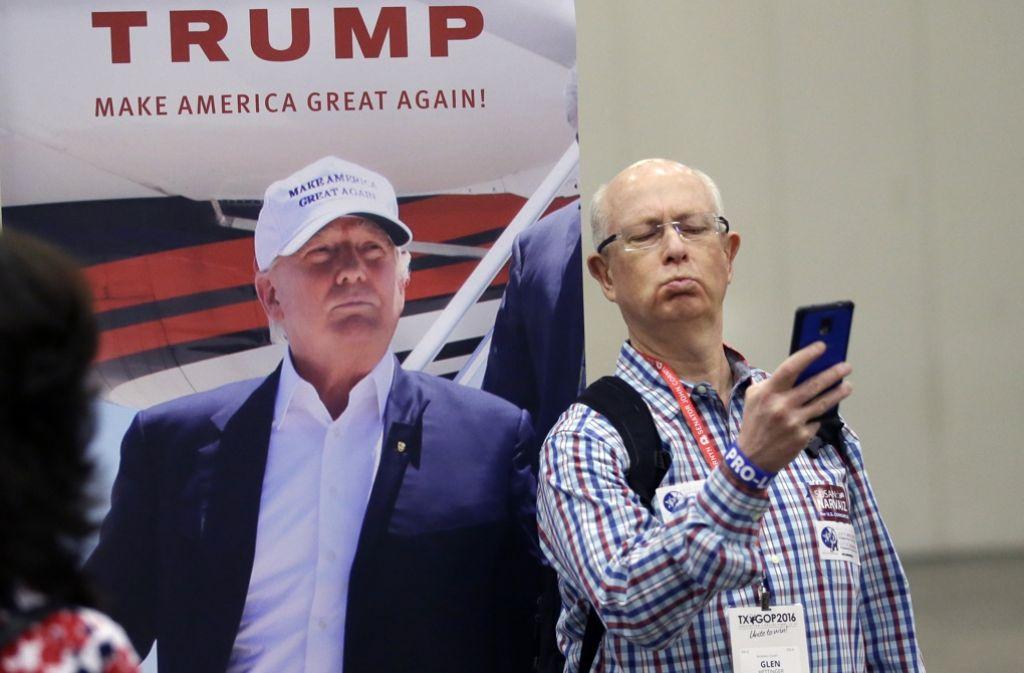 """Trump will als Präsident die USA wieder """"groß"""" machen. Doch selbst die eigene Partei hat ihre Probleme mit dem Immobilienmilliardär. Foto: AP"""