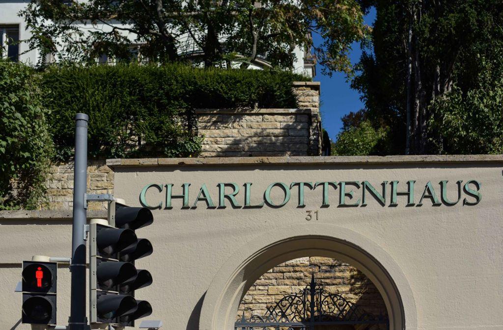 Das Charlottenhaus in Stuttgart muss zum 1. Januar 2019 schließen. Foto: Lichtgut/Max Kovalenko
