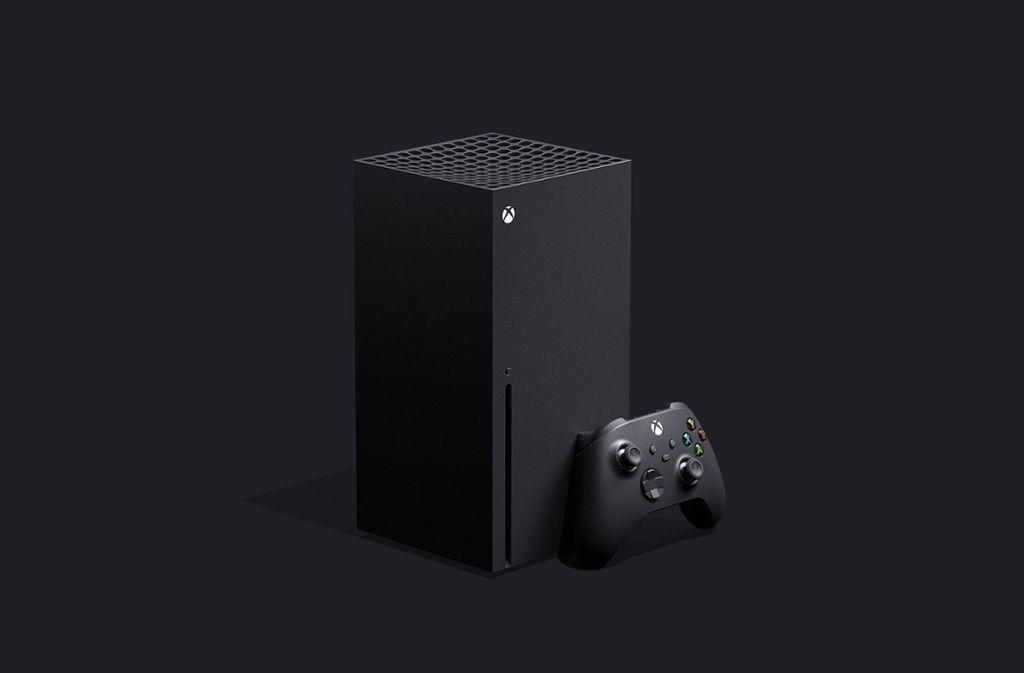 So werden die neue Xbox Series X und der dazugehörige Controller aussehen. Foto: Xbox