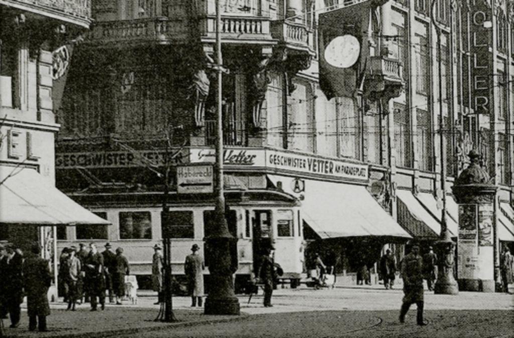 Das Kaufhaus Vetter gehörte in Mannheim zu den bedeutenden Unternehmen. Foto: Stadtarchiv Mannheim