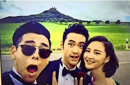 Chinesische Superstars heiraten in Hechingen