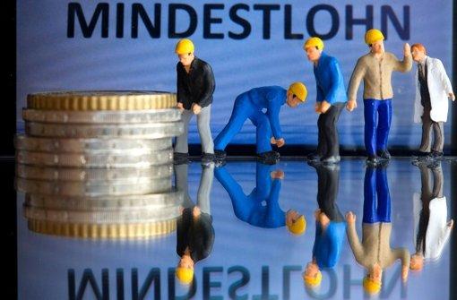 Der Mindestlohn liegt aktuell bei 8,50 Euro. Foto: dpa