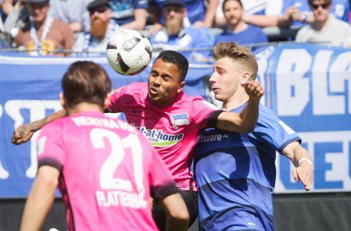 Hertha BSC holt Sieg bei Absteiger SV Darmstadt 98
