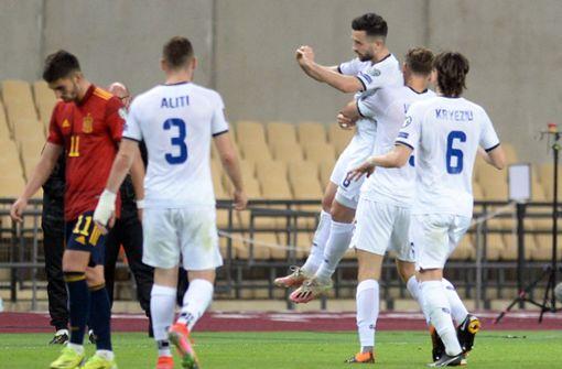 Besar Halimi trifft für Kosovo bei Niederlage in Spanien spektakulär