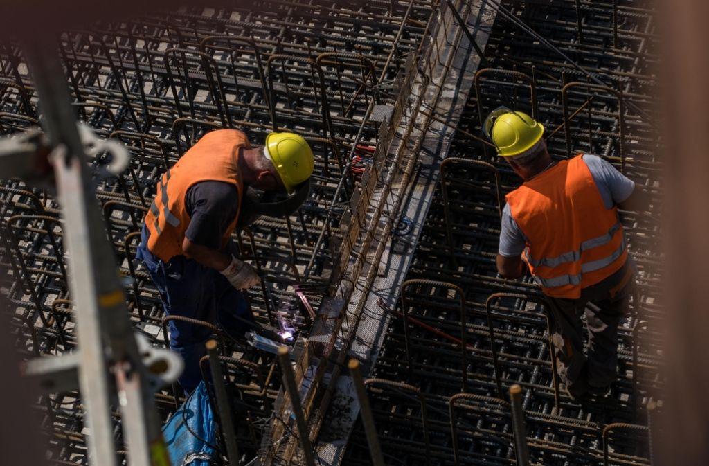 Die Bauarbeiten an S 21 sind in vollem Gang. Foto: Lichtgut/Max Kovalenko