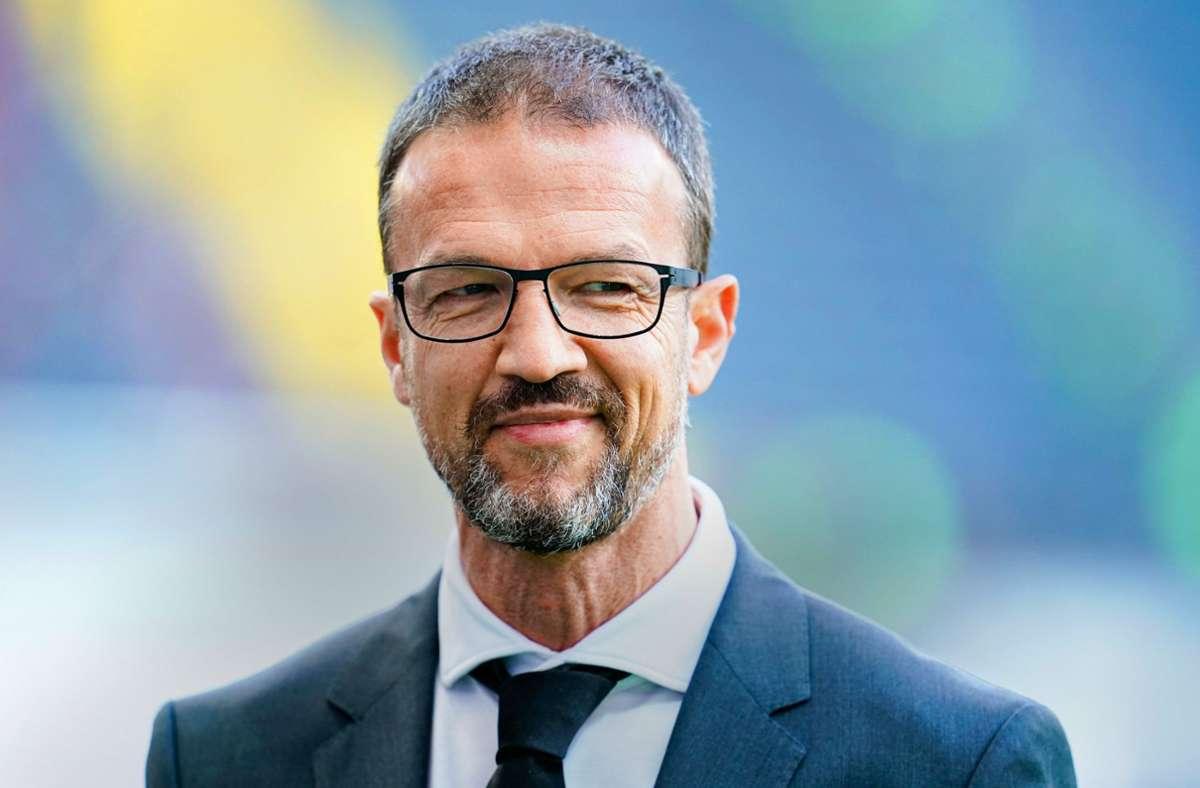 Bald nicht mehr bei Eintracht Frankfurt? Sportvorstand Fredi Bobic Foto: dpa/Uwe Anspach