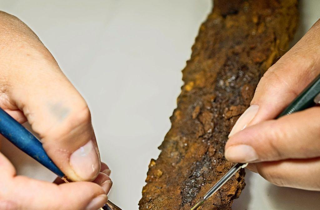 Wer als Archäologe arbeitet, erhält in der Regel nur einen befristeten Vertrag. Foto: dpa