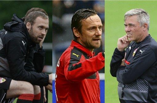 Das sind die drei Interimstrainer des VfB