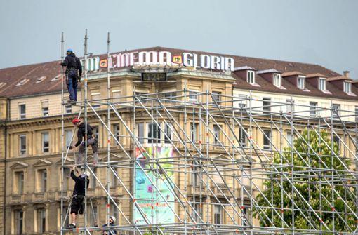 Der Schlossplatz wird zum Freiluft-Kino
