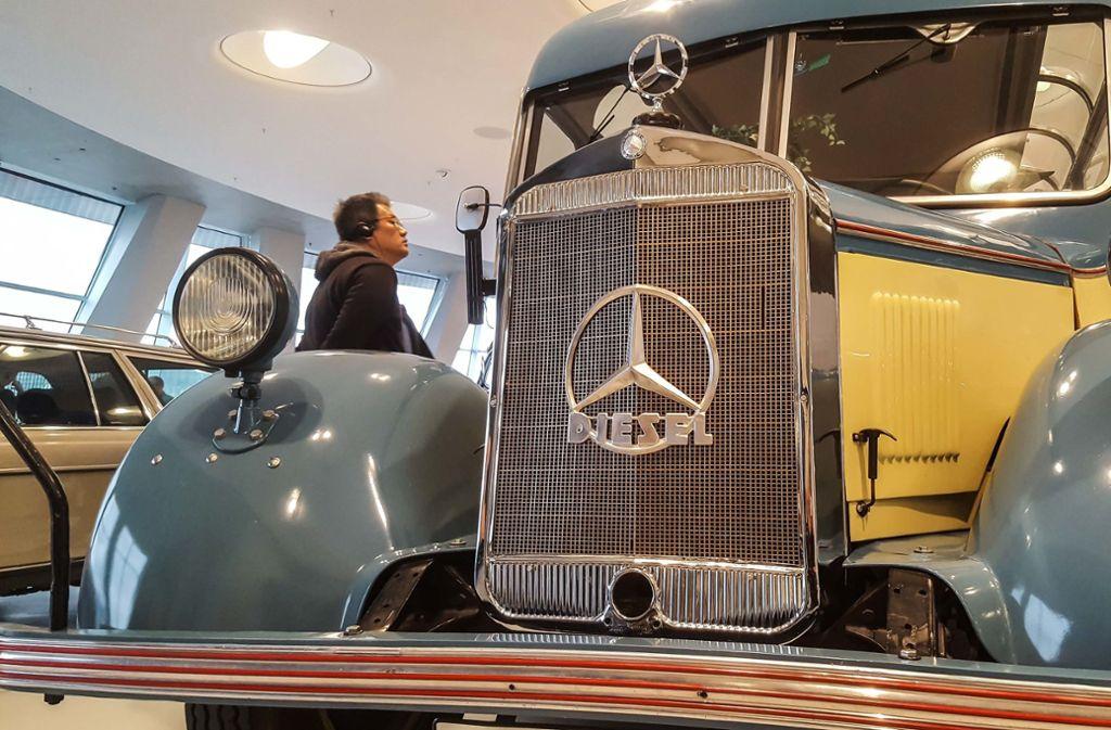 Auf die automobilen Schätzchen im Mercedes-Museum fahren Chinesen besonders ab. Foto: Lichtgut/Max Kovalenko