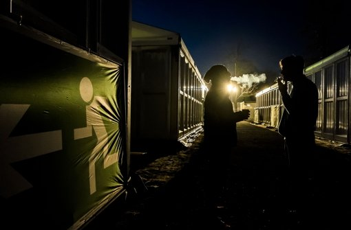 Die Flüchtlingsunterkunft im Reitstadion hat neue Bewohner. Foto: Lichtgut/Max Kovalenko