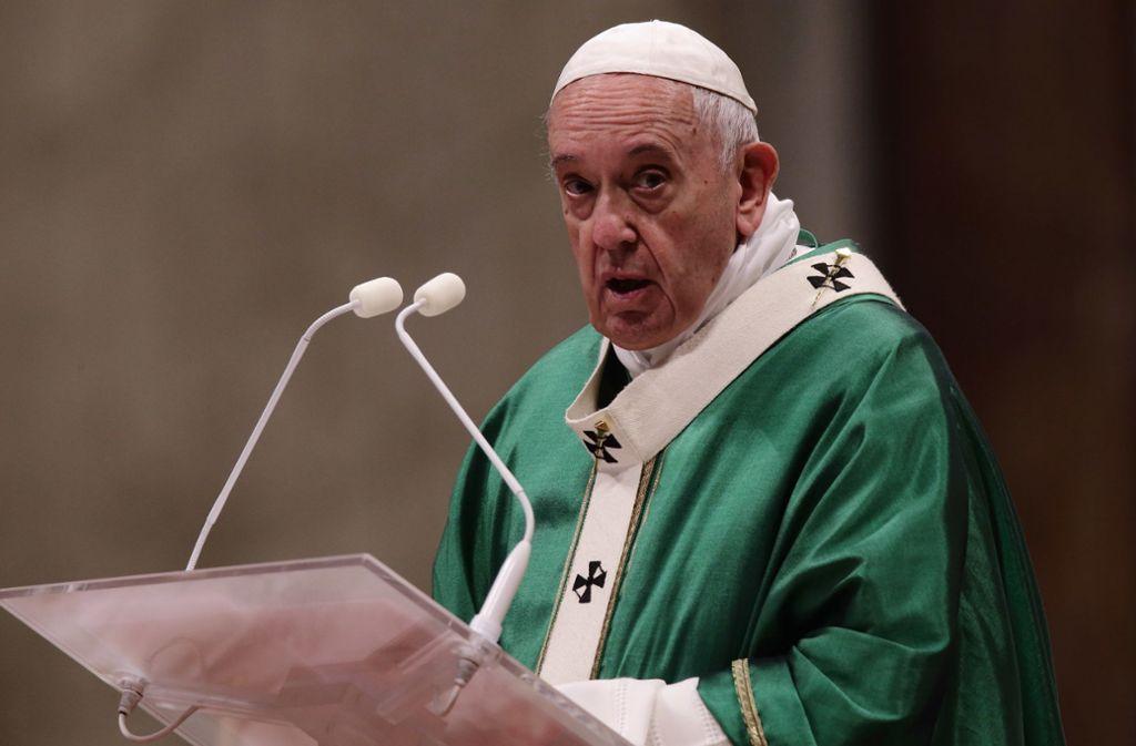 Ist Papst Franziskus ein Football-Fan? Ein Tweet aus dem Vatikan machte jedenfalls unfreiwillig Werbung für ein NFL-Team. Foto: dpa/Evandro Inetti