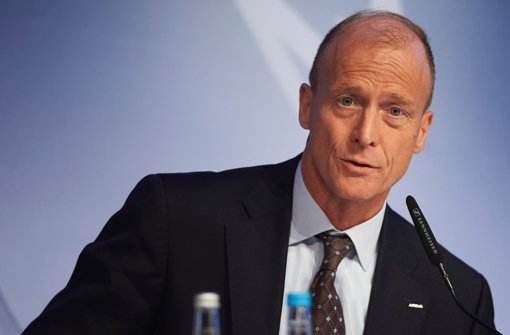 Airbus-Chef Tom Enders tritt den Rückzug aus der Militärsparte an. Foto: AFP