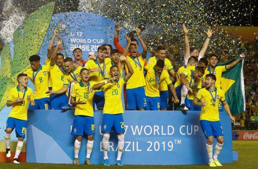 Nächster Titel für Brasilien