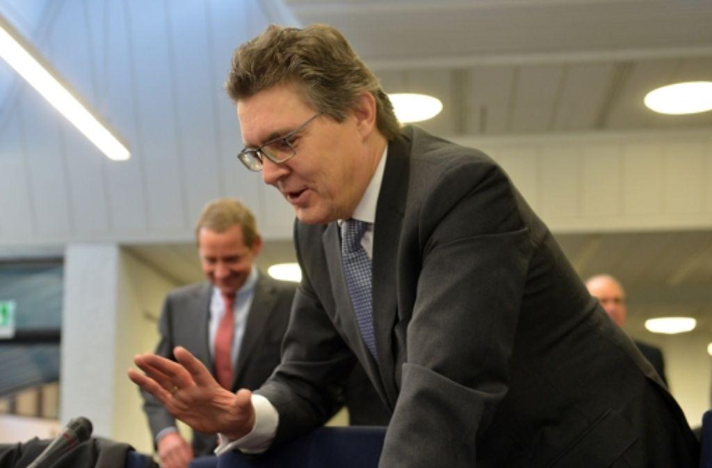 Der frühere LBBW-Vorstandsvorsitzende Siegfried Jaschinski Foto: dpa