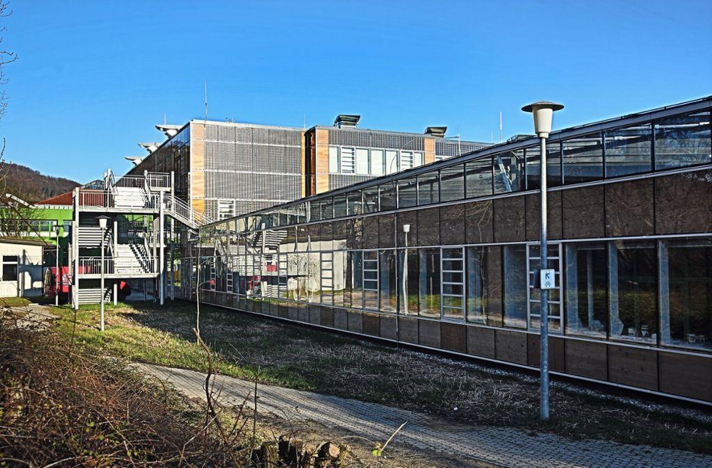Die Schule erhielt eine komplett neue Fassade, die Teil des Problems ist. Foto: /Horst Rudel