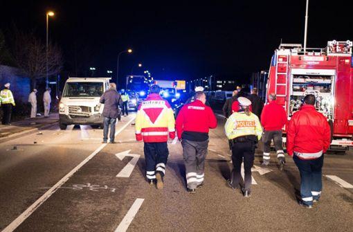 Frau mit Rollator überfahren und getötet