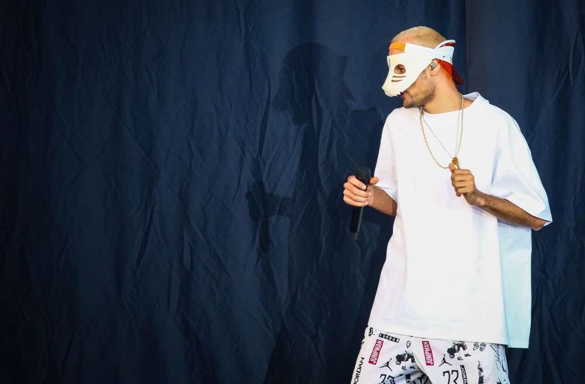 Cro mit der alten Maske. Foto: Lichtgut/Christoph Schmidt