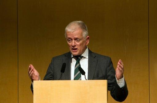 Oberbürgermeister  Fritz Kuhn (Grüne) wird die Aktionswoche gegen Rassismus  eröffnen. Foto: Lichtgut Christian Hass
