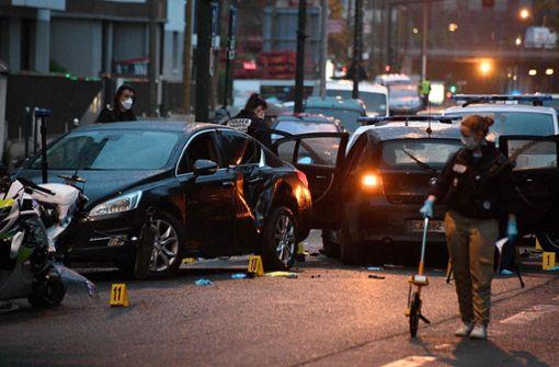 Polizisten angefahren - Anti-Terror-Fahnder ermitteln