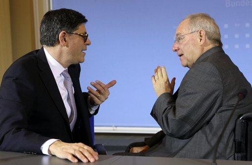 Schäuble warnt vor neuen  Spekulationsblasen