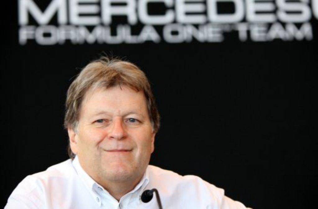 """Norbert Haug hat einen neuen Job. Der langjährige Mercedes-Motorsportchef arbeitet jetzt für die PARAVAN Technology Group. Haug soll dort """"die strategische Weiterentwicklung koordinieren"""", wie das schwäbische Unternehmen mitteilte. Foto: dpa"""