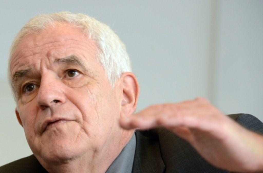 Justizminister Rainer Stickelbergber (SPD) Foto: dpa