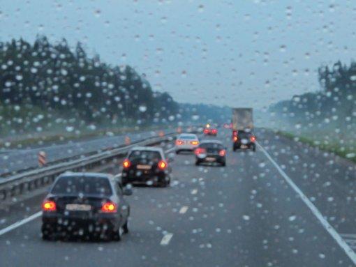 14.5.: Starkregen sorgt für Unfälle