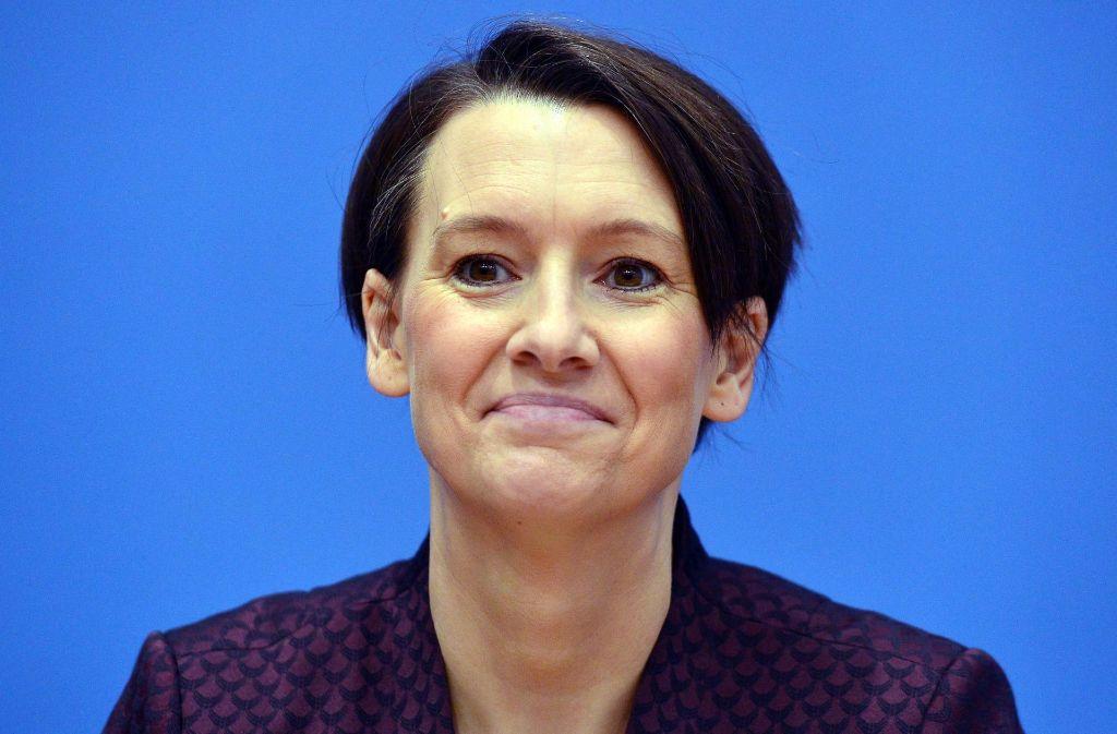 Keine Angst vor Smartphones: Bremens Bildungssenatorin Claudia Bogedan (SPD). Foto: dpa