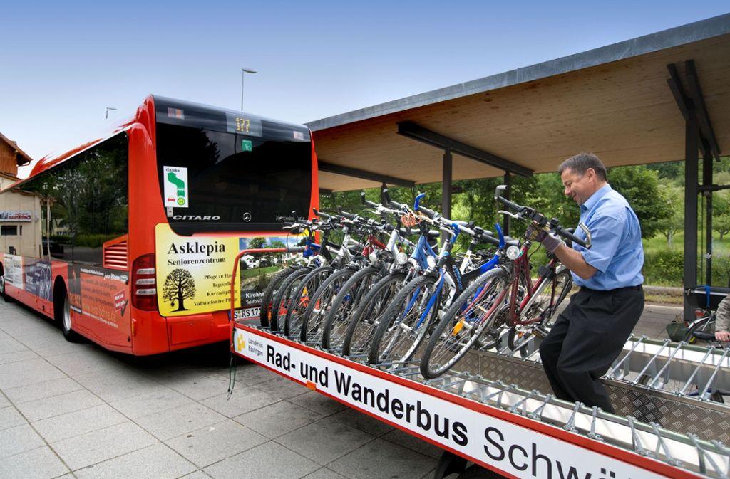 Von Sonntag an können Radfahrer sich wieder die Bergwertungen sparen. Foto: Horst Rudel