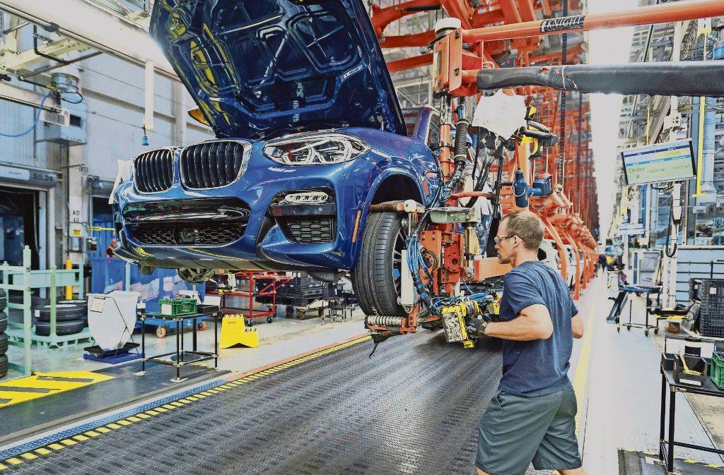 Der Wandel in der Automobilbranche gefährdet Arbeitsplätze. Foto: BMW