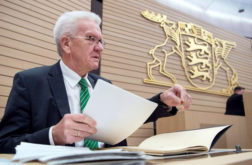 Ministerpräsident Winfried Kretschmann kann die Kritik an der neuen Altersversorgung für Abgeordnete nachvollziehen. Foto: dpa