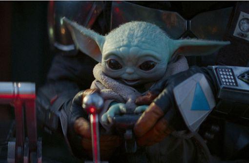 Baby Yoda fliegt mit Astronauten zur ISS