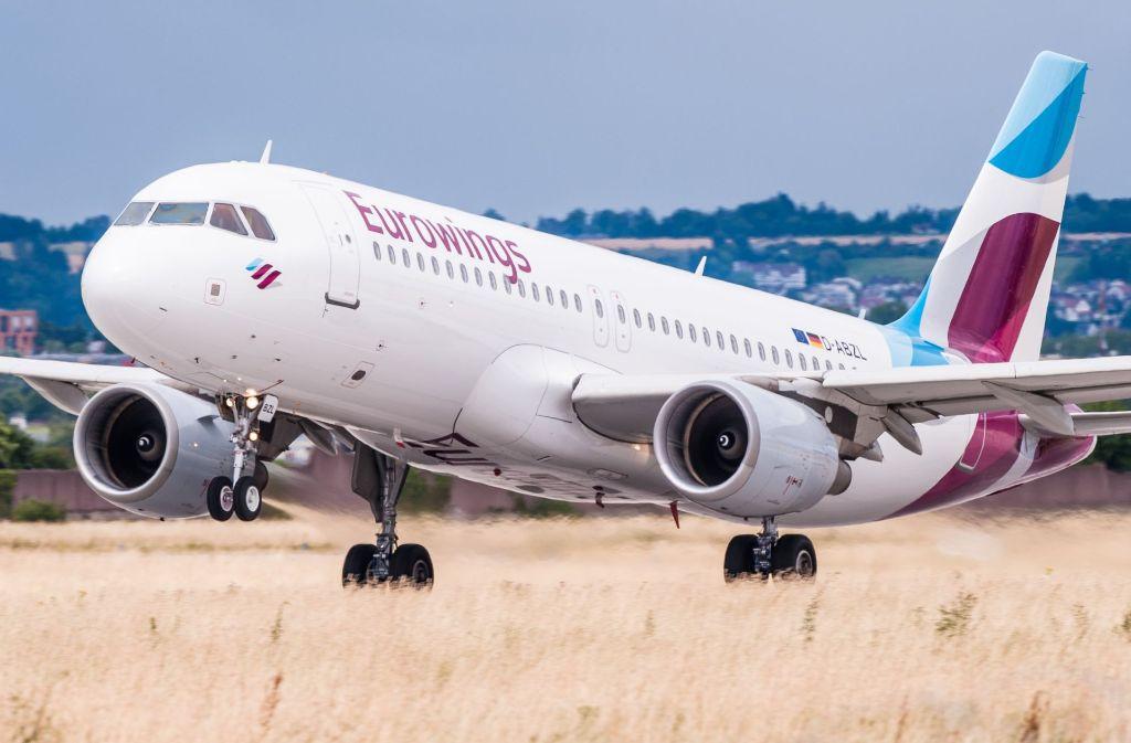 Eurowings will den Ausfall von Air Berlin auf dem Stuttgarter Flughafen wettmachen. Foto: dpa