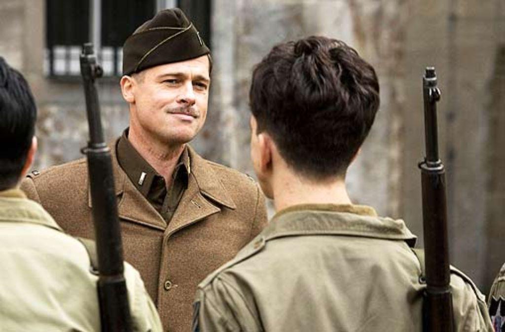 Der Tarantino-Hit Inglourious Basterds mit Brad Pitt ist einer der von Deutschland geförderten Kinokassenschlager. Foto: Verleih