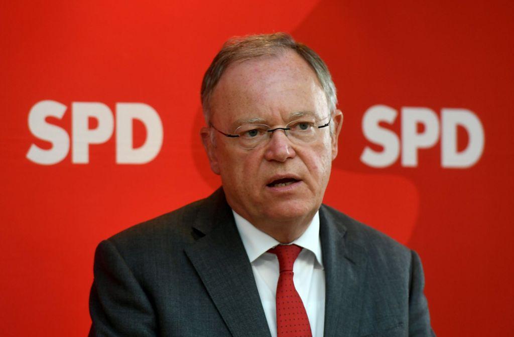 Kandidiert er oder kandidiert er nicht? Niedersachsens Ministerpräsident Stephan Weil. Foto: dpa