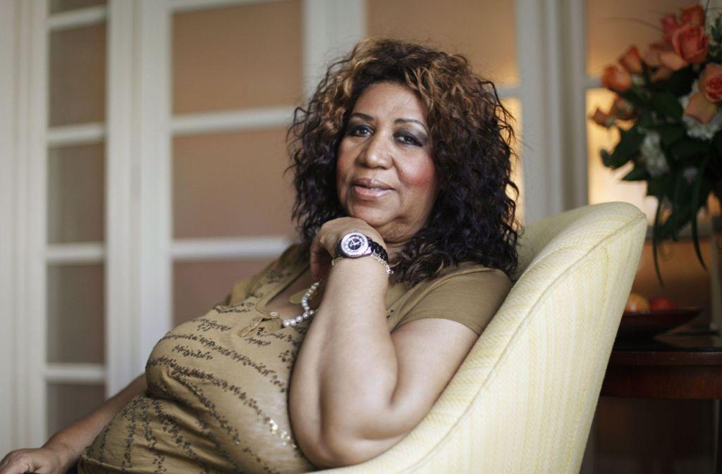 """Die """"Queen of Soul"""" starb im Alter von 76 Jahren an Krebs. Foto: AP"""