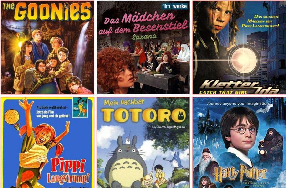 Einige Plakate der Filme, die in unserer Liste vorkommen. Foto: Verleiher