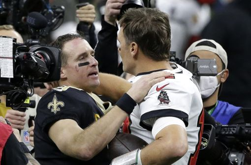 Brady verabschiedet Brees aus den Playoffs –  und der Karriere?