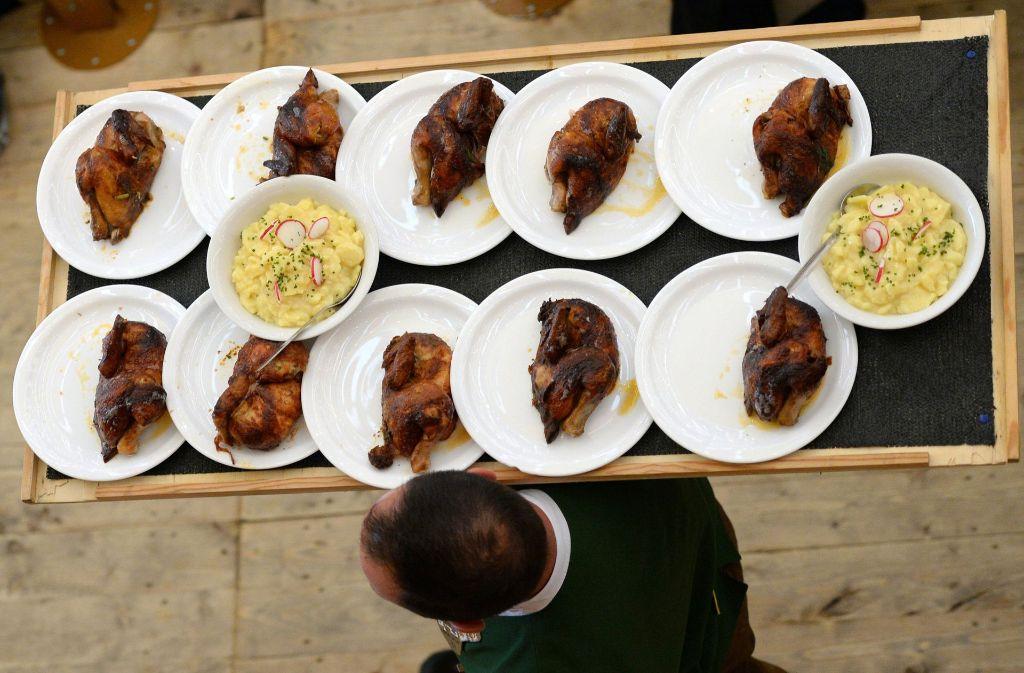 Verdacht auf Lebensmittelvergiftung auf dem Oktoberfest. (Symbolbild) Foto: dpa