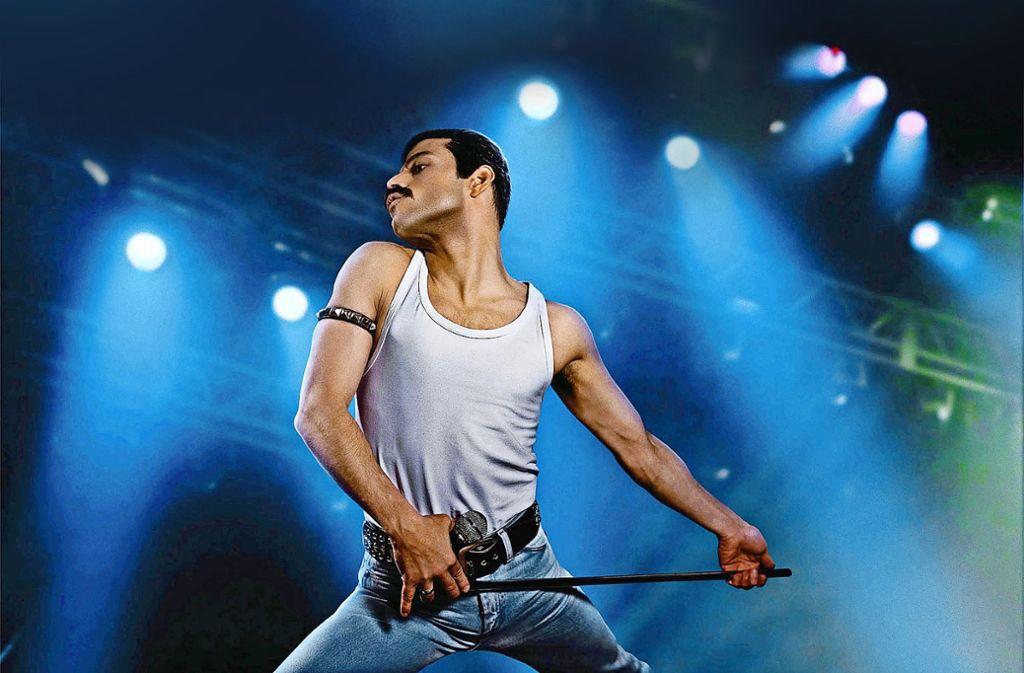 Freddie Mercury in dem biografischen Filmdrama Bohemian Rhapsody.Foto:Verleih Foto: