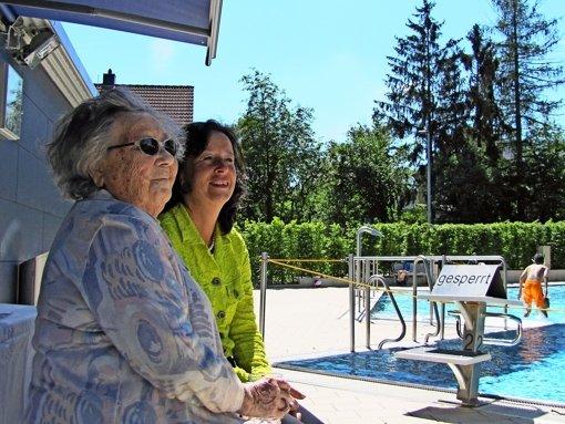 99-jähriger Sonnenschein