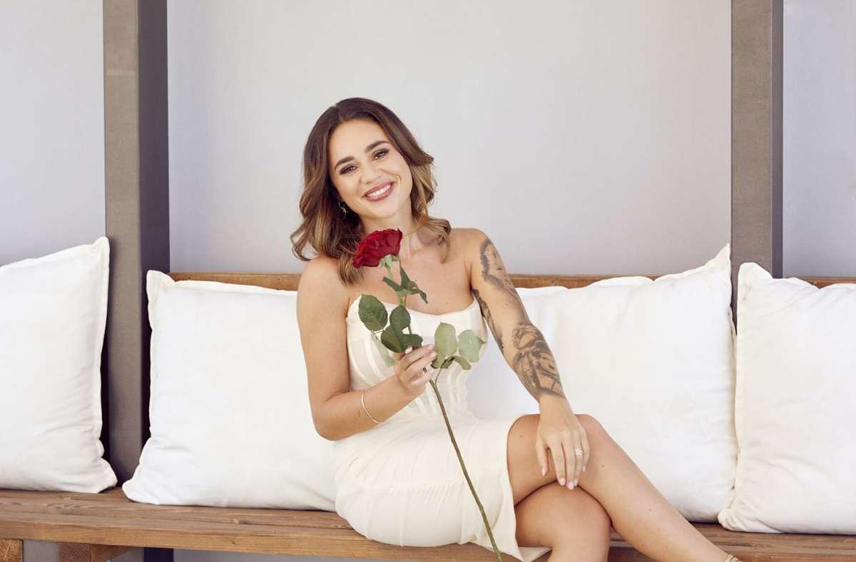 Melissa Damilia ist die neue Bachelorette. Foto: TVNOW/Arya Shirazi
