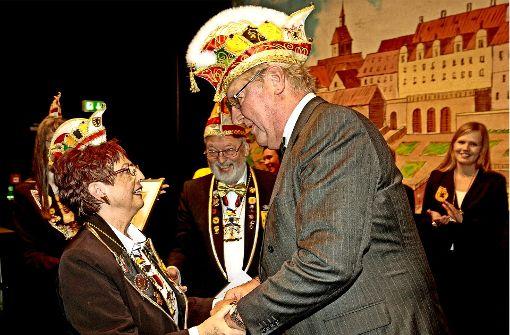 Harald Lutz ist jetzt Ehrenpräsident