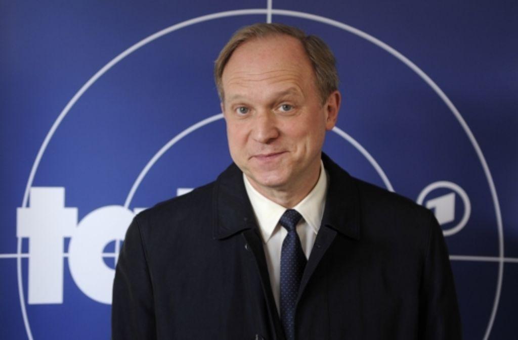 """Ulrich Tukur spielte im hr-Tatort """"Wer bin ich?"""" sich selbst. (Archivbild) Foto: dpa"""