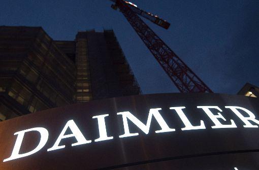 US-Klage gegen Daimler wegen Abgas-Schwindels
