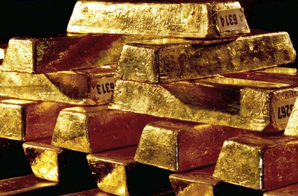 Rund zwei Drittel des von den Nationalsozialisten geraubten Goldes (schätzungsweise 337 Tonnen, Symbolfoto) konnten von den drei alliierten Siegermächten Großbritannien, Frankreich und den USA an die Ursprungsländer zurückgegeben werden. Foto: dpa